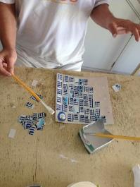 DiaDia-Mosaico para capa de bloco
